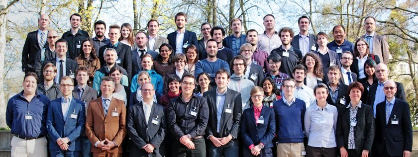 The MaxSynBio team at the workshop in Berlin in 2015